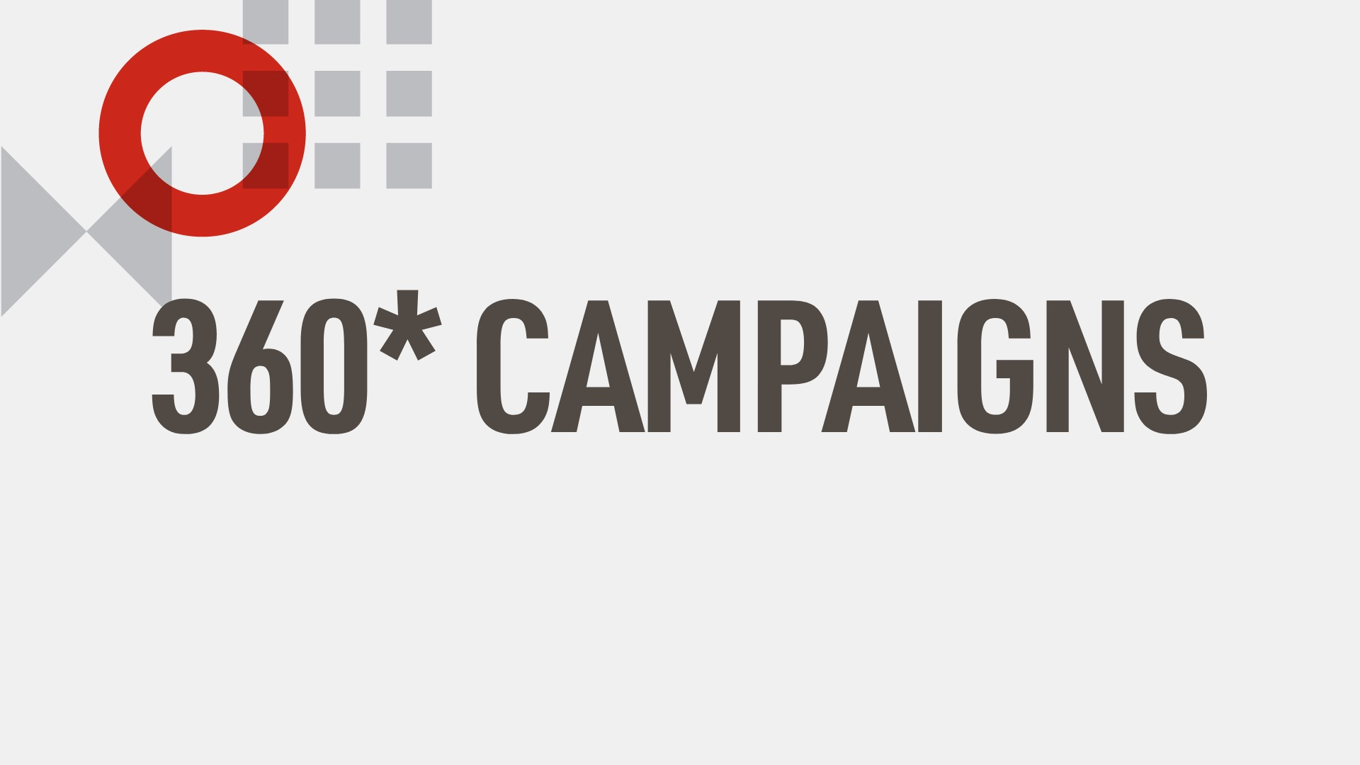 Creative Solutions - 360 Campaigns