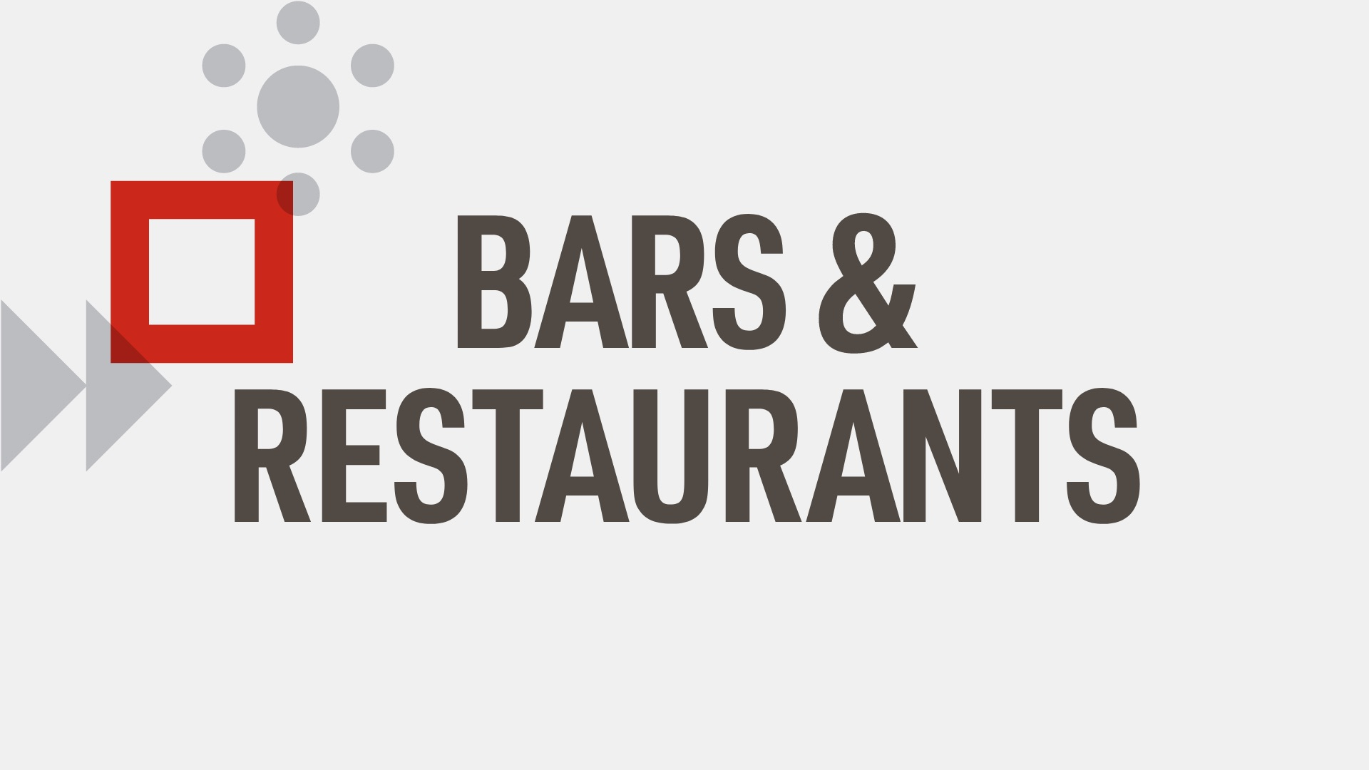 Out Of Home - Bars & Restaurants
