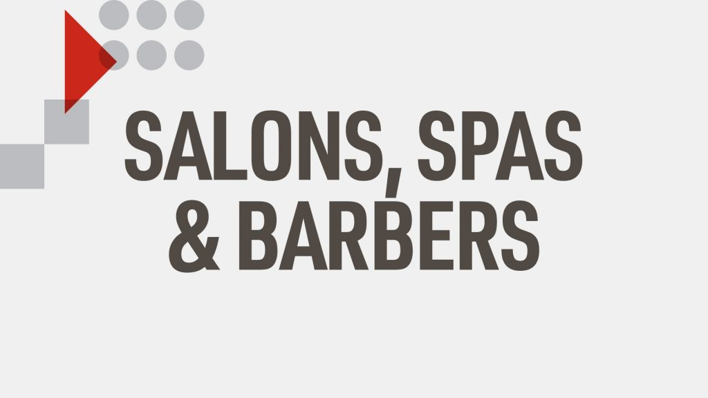 Out Of Home - Salons, Spas & Barbers